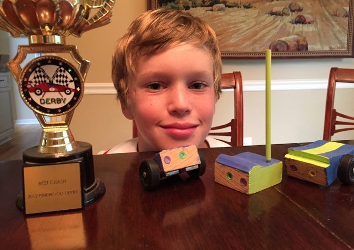 Best Crash! One cub scout's life lesson in defining your own success