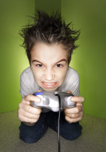 Next level - angry gamer - iStockphoto