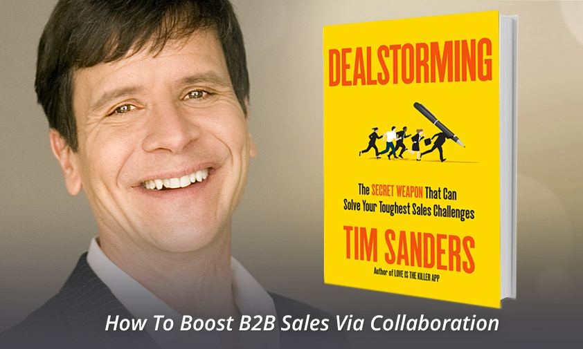 Dealstorming with Former Yahoo! Chief Solutions Officer, Tim Sanders